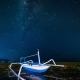 Fishing Boat Aground Against the Milky Way - VideoHive Item for Sale