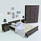 Bedroom set vol.1 - 3DOcean Item for Sale