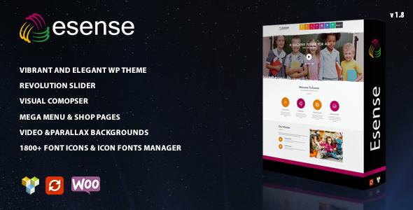 Image of Esense - Vibrant and elegant WP theme