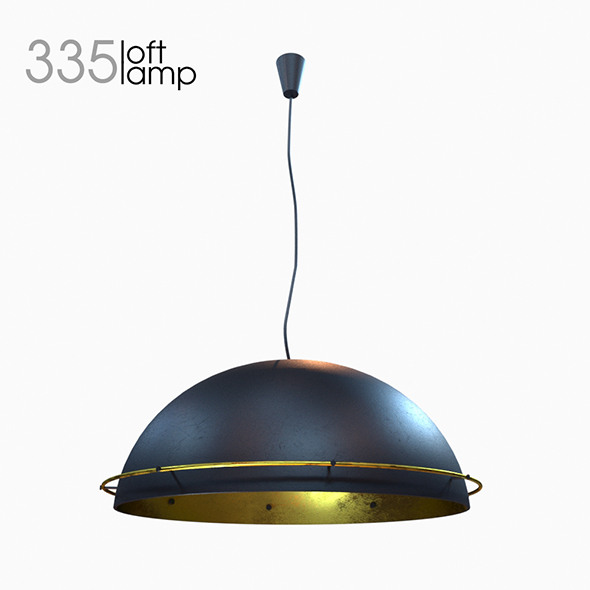 Loft Lamp 335 - 3DOcean Item for Sale