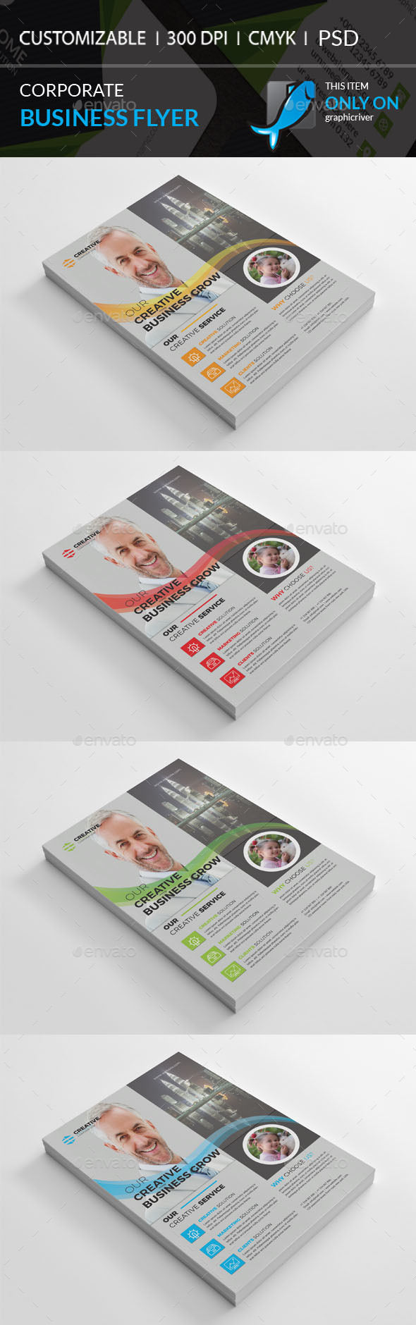 GraphicRiver Corporate Flyer 21093700