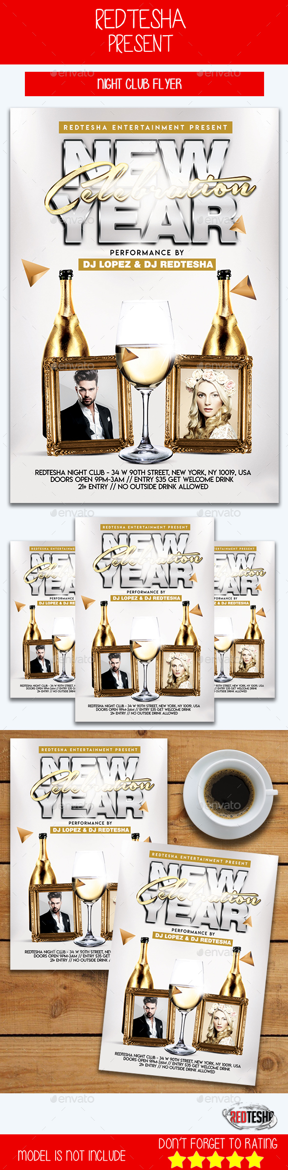 GraphicRiver New Year Celebration 21093865