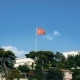 of Turkish Flag Waving in Blue Sky Outdoors - VideoHive Item for Sale