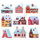 Winter Houses and Cottages Set - GraphicRiver Item for Sale