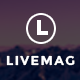 LiveMag - Multipurpose Magazine Theme - ThemeForest Item for Sale