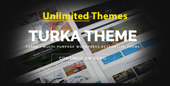 Image of Turka - Multi-Purpose WordPress Theme