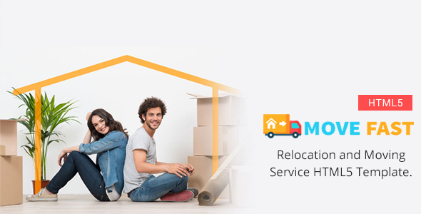 ThemeForest Move Fast Relocation and Moving Service HTML5 Template 21002487