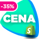 Cena | Multi - Purpose Sectioned Shopify Theme