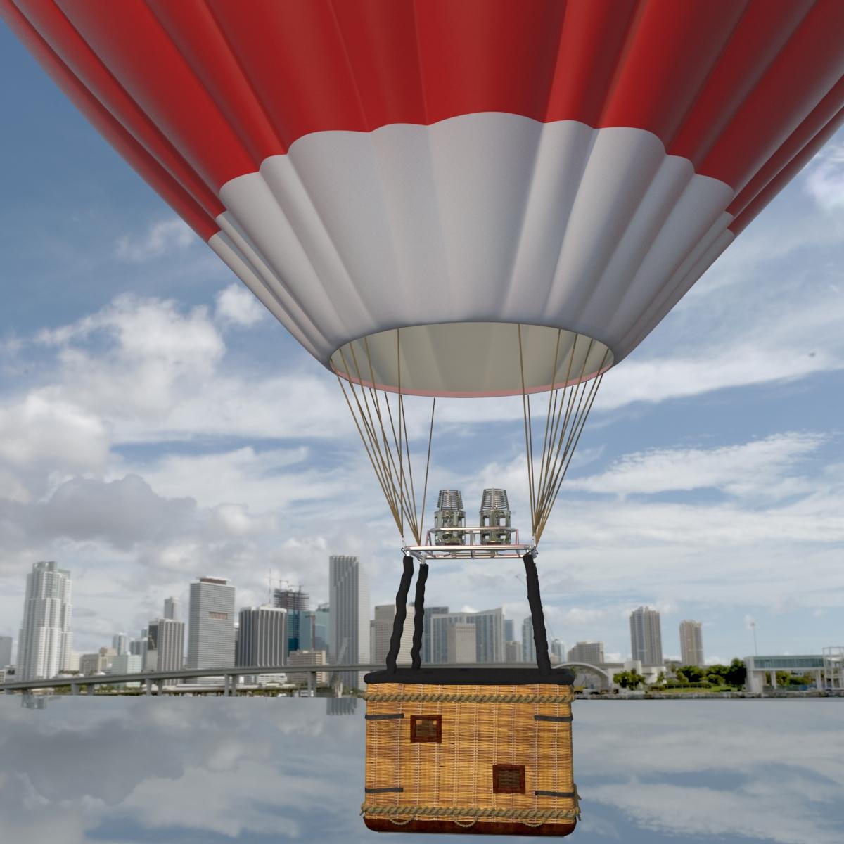 Balloon Hot Air by Experienceplus   3DOcean