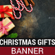 Christmas Gifts Banner - GraphicRiver Item for Sale