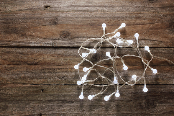 Fairy Lights - Stock Photo - Images