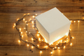 Gift Box and Fairy Lights - PhotoDune Item for Sale