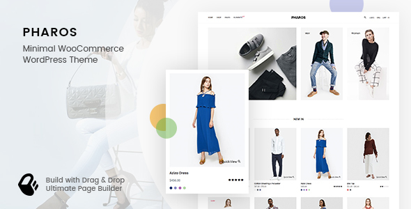 ThemeForest Pharos Minimalist Clean and Simple WooCommerce Theme 20893309