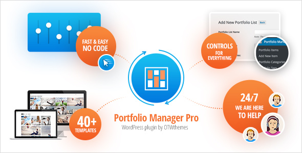 Portfolio Manager Pro - WordPress Responsive Portfolio & Gallery nulled free download