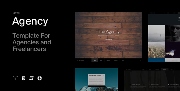 The Agency - Responsive Agency Template - Business Corporate