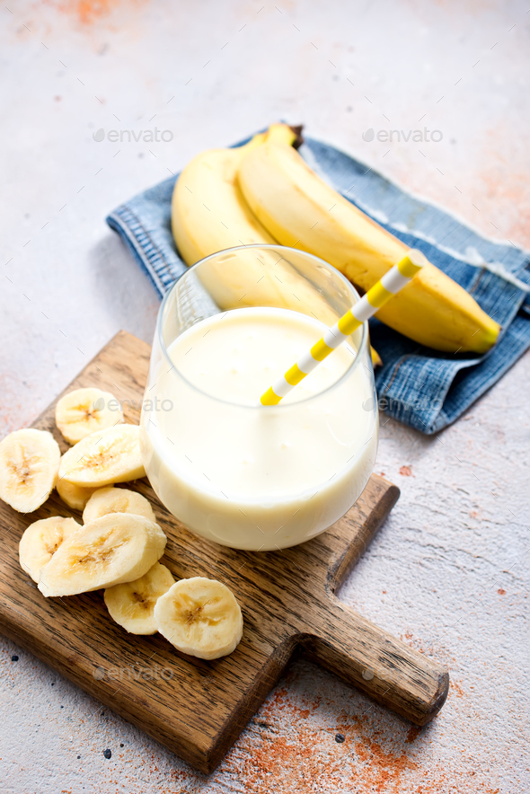 banana drink - Stock Photo - Images