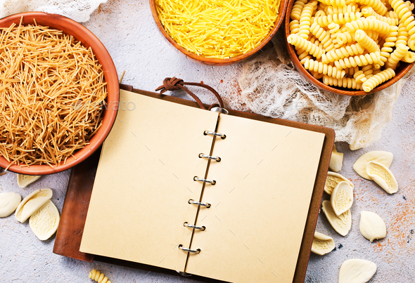 raw pasta - Stock Photo - Images