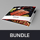 Restaurant – Bundle Print Templates 5 in 1 - GraphicRiver Item for Sale