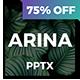 Arina - Minimal Powerpoint