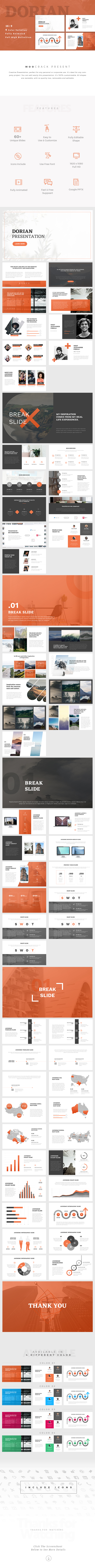 GraphicRiver Dorian Creative GoogleSlides Template 21095567