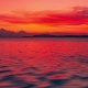 Colorful Sunset in the Ripple Sea in Gili Island, Indonesia - VideoHive Item for Sale