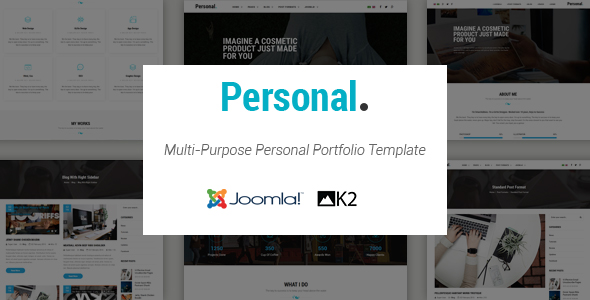 Personal - Responsive Multi-Purpose Personal Portfolio Joomla ...