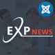 Sj ExpNews - Clean Drag & Drop News Portal Joomla Template - ThemeForest Item for Sale