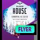 Club Flyer: Gingerbread House