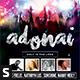 Adonai CD Album Artwork