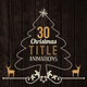 30 Christmas Title Animations - VideoHive Item for Sale