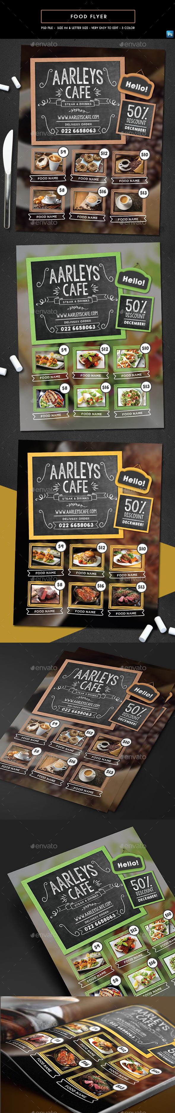 GraphicRiver Food Flyer 21095981