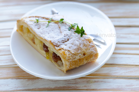 Traditional Strudel - Stock Photo - Images