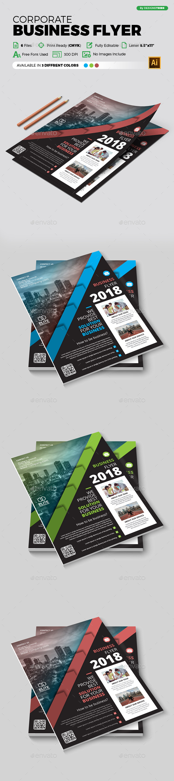 Flyer – Multipurpose 354 - Corporate Flyers