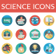 Education and Science icons