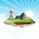 Mountain Island - GraphicRiver Item for Sale