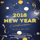 2018 New Year Celebration - GraphicRiver Item for Sale