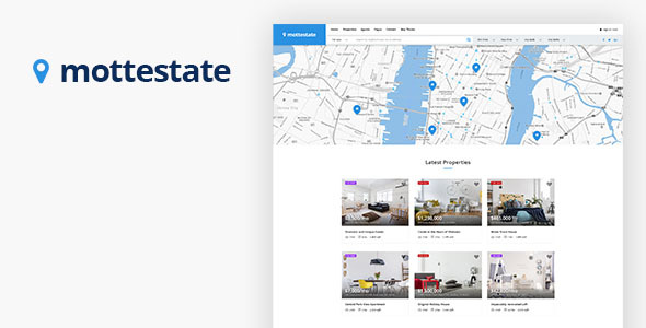 Image of Mottestate - Real Estate WordPress Theme