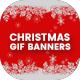 Animated GIF Christmas Banners Ad