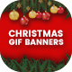 Animated GIF Christmas Banners Ad - GraphicRiver Item for Sale