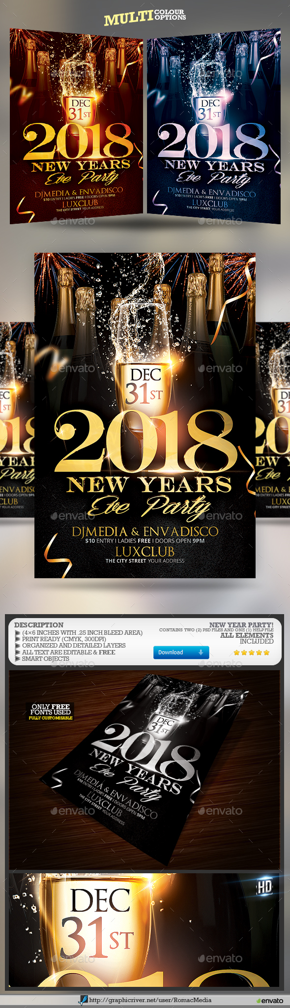 Happy New Year - Clubs & Parties Events