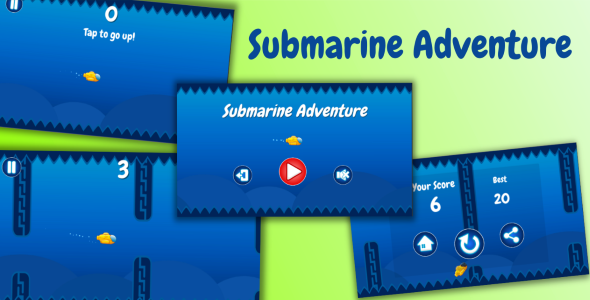 Download Source code              Submarine Adventure Unity3D game source code            nulled nulled version