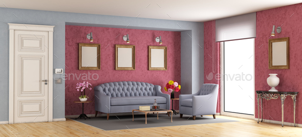 Classic living room - Stock Photo - Images