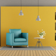 Colorful living room - PhotoDune Item for Sale