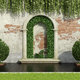 Garden with lush vegetation - PhotoDune Item for Sale