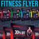 Fitness Flyer Creative - GraphicRiver Item for Sale
