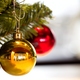 Christmas tree decorations hanging on a Christmas tree - PhotoDune Item for Sale