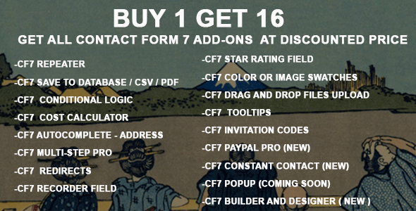 Contact Form 7  Add-on Bundle - All In One - CodeCanyon Item for Sale