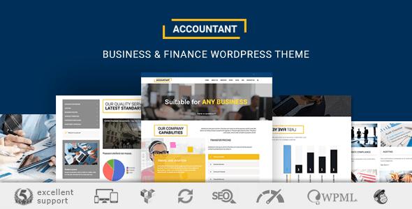 Accountant - Accounting WordPress Theme