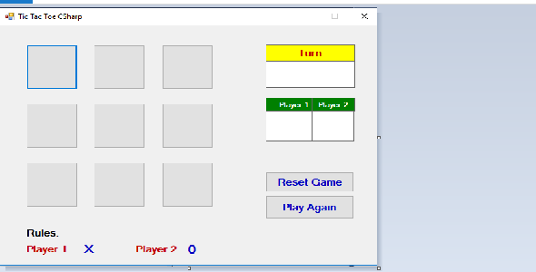 CodeCanyon Tic Tac Toe by C-Sharp 21097451