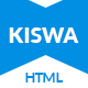 Kiswa - Multipurpose Responsive Template - ThemeForest Item for Sale